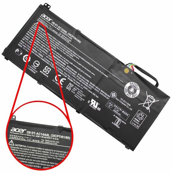 Bateria Acer Nitro V15 Vn7-591g Ac14a8l Seminova (12020)