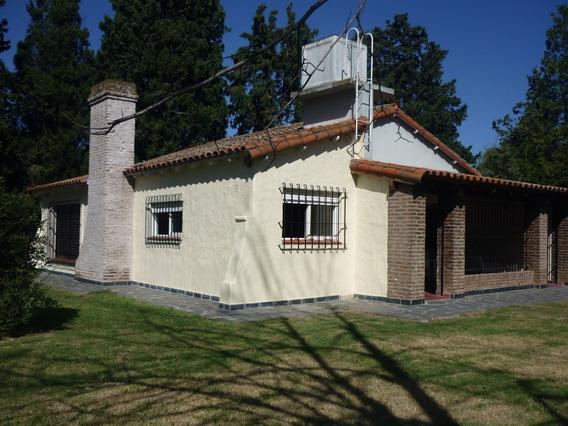Casa Alquiler Gonnet 2 Dormitorios Jardin Servicios Asfalto