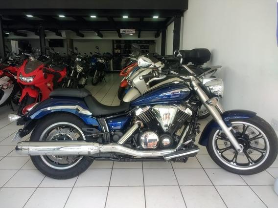 Yamaha Xvs 950a Midnight Star Azul 2012