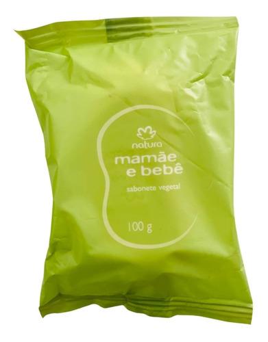 Imagem 1 de 3 de Sabonete Em Barra Mamãe Bebê 100g Natura Fragrância Suave