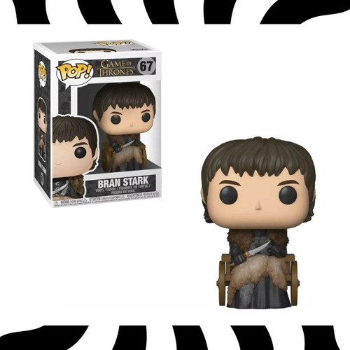 Funko Pop! Bran Stark - Pop! Tv Game Of Thrones #67 Kemuñe