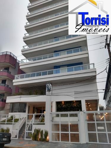 Imagem 1 de 23 de Apartamento Em Praia Grande, 02 Dormitório, Canto Do Forte, Ref.  Ap2873 - Ap02873 - 69678168