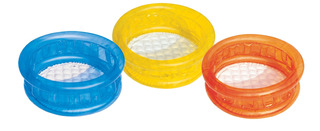 Mini Pileta Inflable Redonda Transparente 64x25cm Bestway