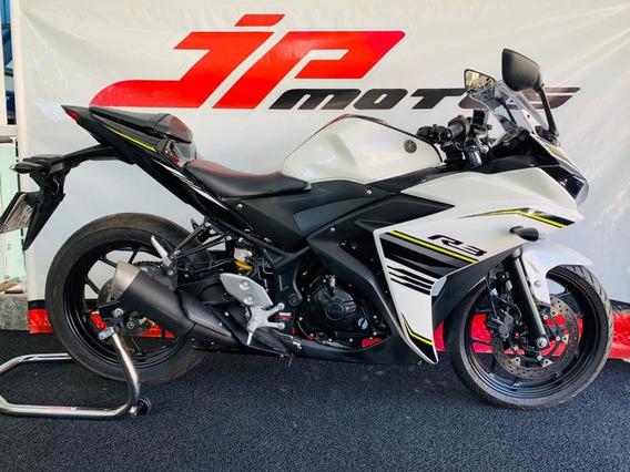 Yamaha R3 2018 Branca Abs
