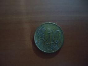 Moeda 10 Cents De Euro