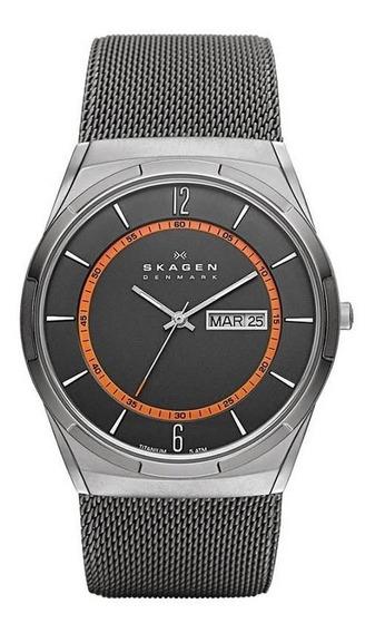 Relógio Skagen Masculino Ref: Skw6007/1pn Slim Titânio