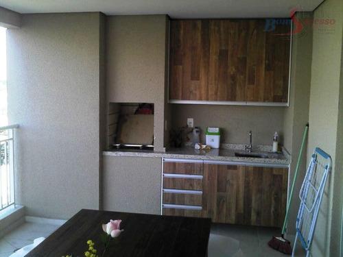 Imagem 1 de 18 de Apartamento Com 3 Dormitórios À Venda, 110 M² Por R$ 950.000,00 - Vila Carrão - São Paulo/sp - Ap1426
