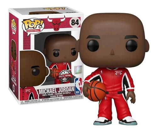 Imagem 1 de 3 de Boneco Funko Pop Michael Jordan 84 Chicago Bulls Nba Oficial