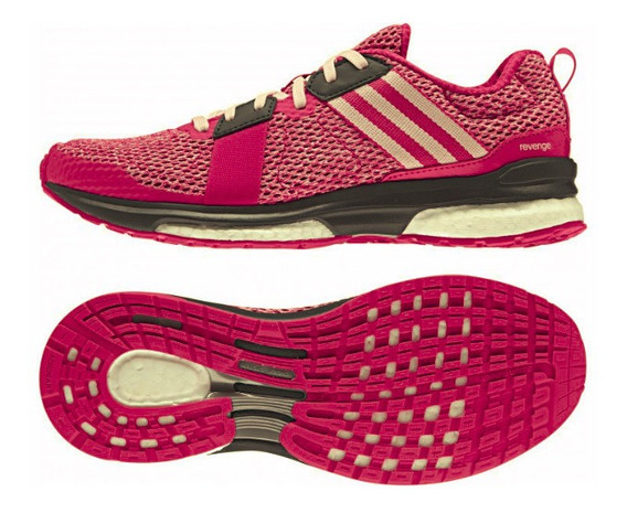 Tênis adidas Revenge Boost Mesh Rosa
