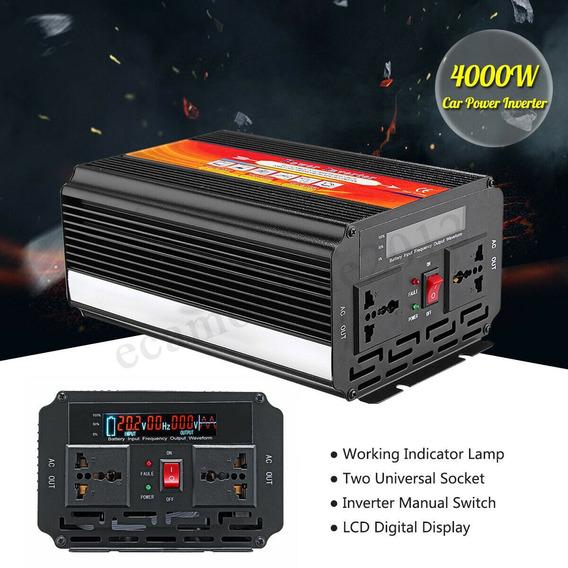 Inversor 2000w 4000w 12v 110v 60 Hz Potente Envio Imediato