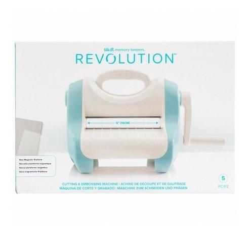 Imagen 1 de 1 de Maquina Troqueladora Revolution Embossing 15cm We R 661176