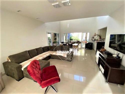 Sobrado Com 3 Dormitórios À Venda - Condomínio Villa Florença - Ribeirão Preto/sp - So0572