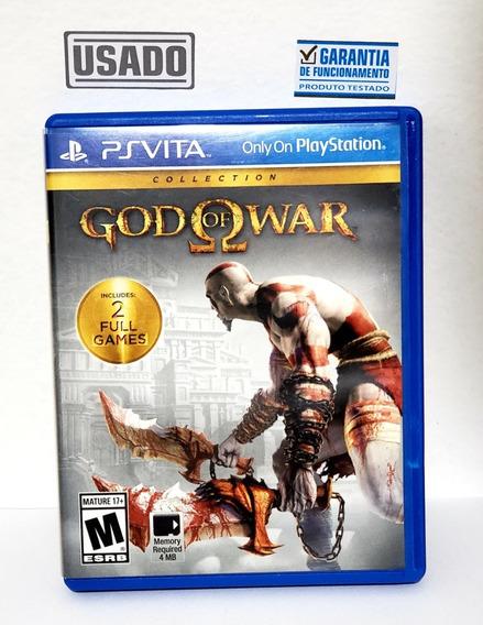 Jogo God Of War Colection Ps Vita Usado