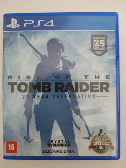 Rise Of The Tomb Raider 20 Years Celebration Ps4 Playstation