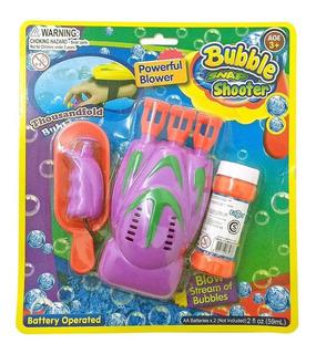 Burbujero Automático De Mano Bubble Snap Shoot Para Niños