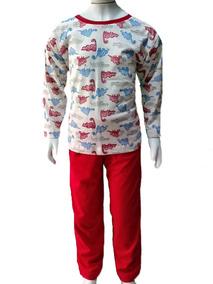 Pijama Infantil Tamanhos 2/3/4/6 Múltiplas Estampas Menino
