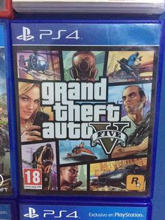 Ps4 Grand Theft Auto V Gta 5 Físico Blu-ray Envíos