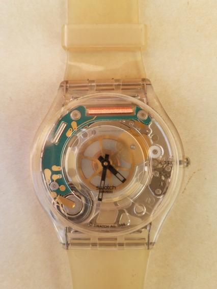 Relógio Skin Swatch Esqueleto