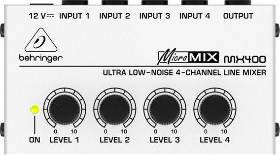 Mixer 110v Mx400 Micromix Behringer Nfe