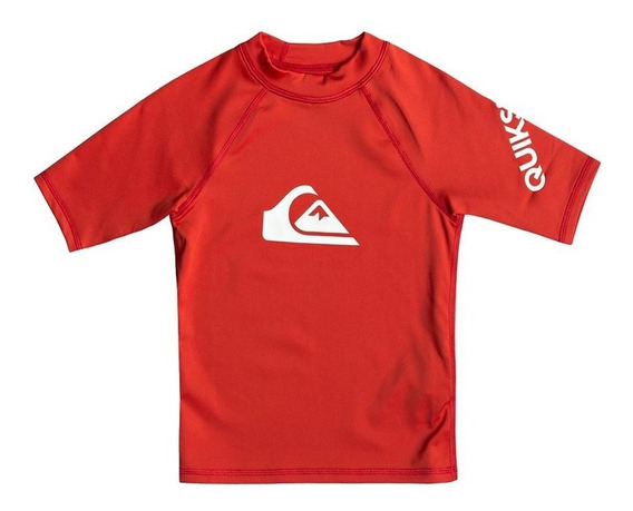 Remera De Lycra Quiksilver De Niño All Time 2201119001 Cro