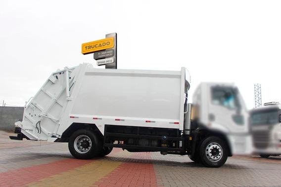 Compactador De Lixo Megalix 2014 = Caçamba 15m³