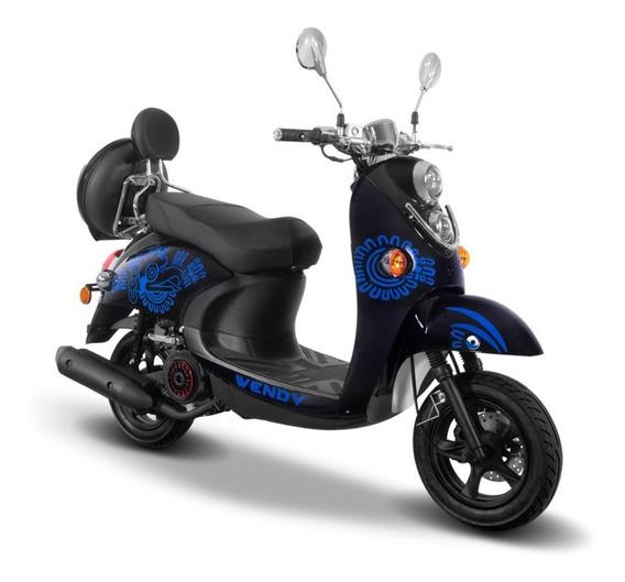 Motocicleta Torino Motors Wendy 150 Negro