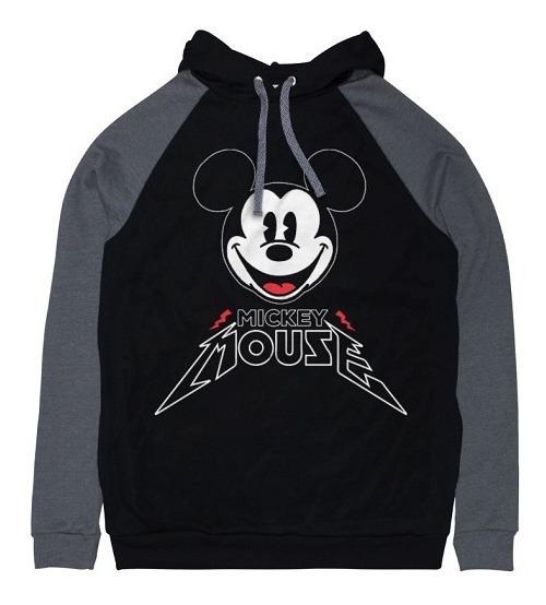 Sudadera Hoodie Hombre Micky Mouse Heavy Disney Máscara De L