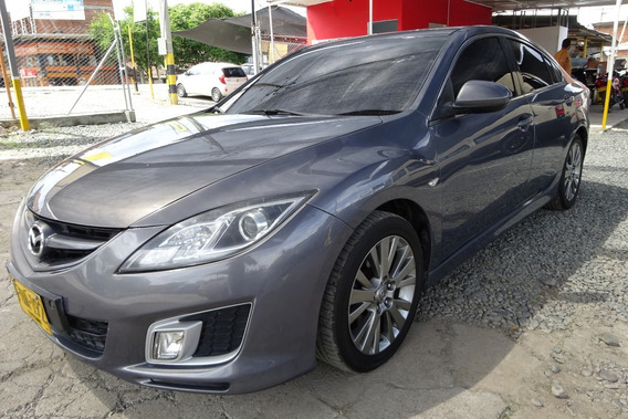 Mazda 6 All New Sr Sedan Triptonico Gris Mod 2010