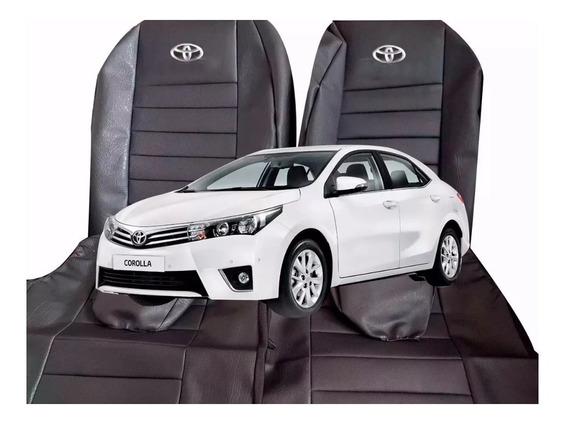 Funda Cubre Asiento Cuerina Toyota Corolla 2014 A 2018