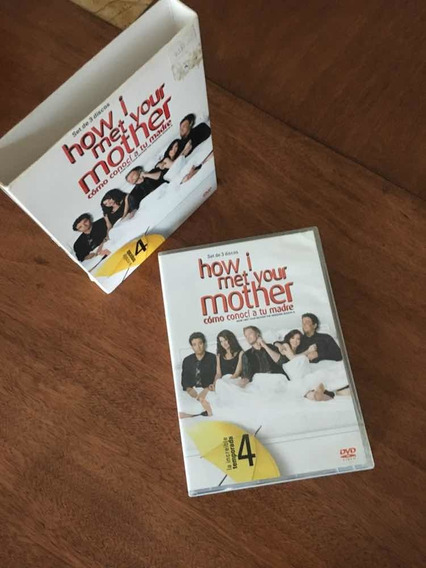 Himym How I Met Your Mother Serie Cómo Conocí A Su Madre T4