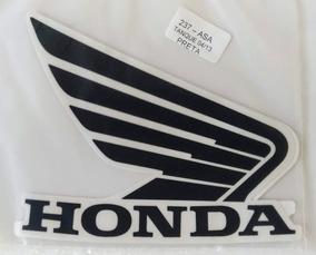 Kit Jogo Faixa Asa Tanque Adesivo Honda 04/13 Preta