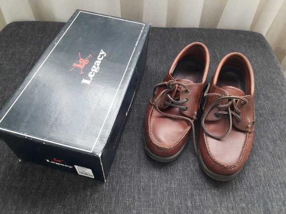 Zapatos Legacy Con Cordón Talle 41 Impecables