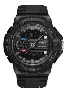 Reloj Weide J8009 Super Militar Deportivo Cronometro Alarma