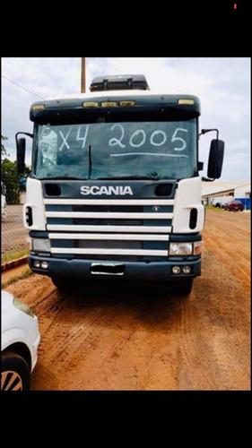 Caminhao Scania P 400 6x4 2005.
