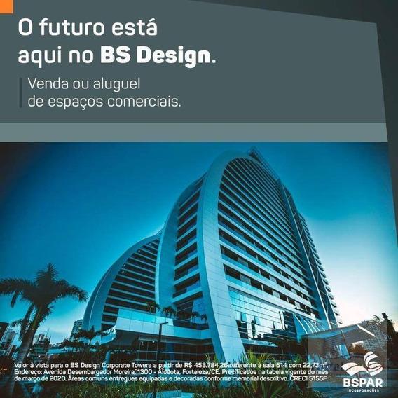 Bsdesign Sala Comercial, No Coração Da Aldeota - Sa0016