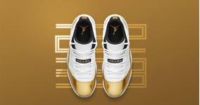 Nike Air Jordan Retrô 11 Low Gold Original