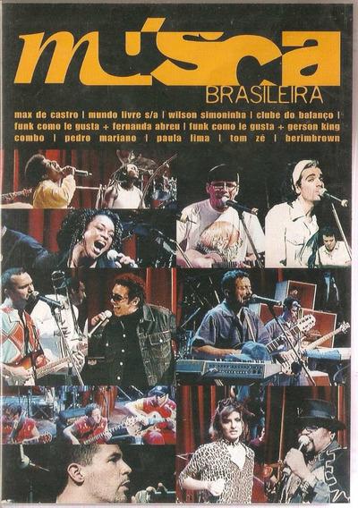 Dvd Música Brasileira - Coletânea - Novo***