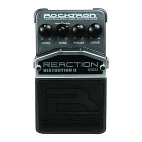 Pedal De Efeitos Rocktron Reaction Distortion Ii