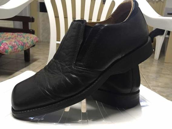 Sapato Social Masculino Preto Ferracini 24hs.