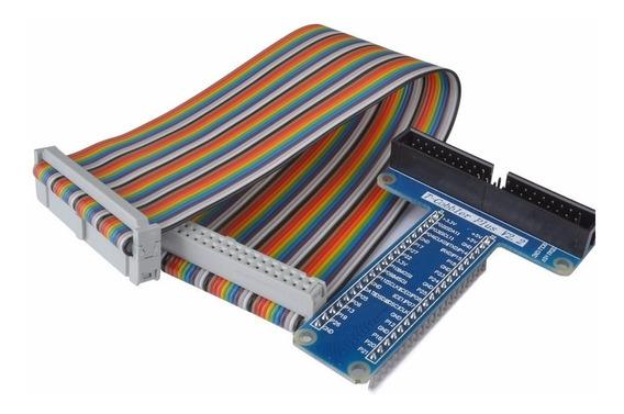 Adaptador Gpio Raspberry Pi2 Pi3 B+ Con Cable