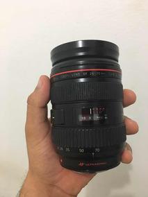 Lente Canon 24 70 2.8 L