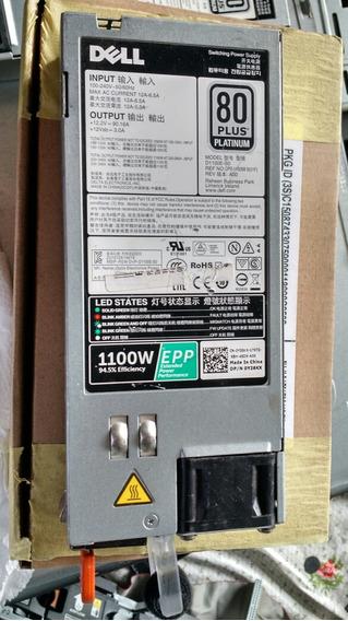 Fonte Dell Power Edge T620 R620 1100w 80 Plus