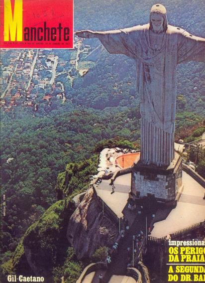 Manchete Nº 1032 - 29.01.72 - Os 4 Baianos / Rio De Janeiro