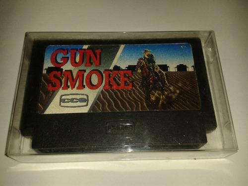 Cartucho Gun Smoke Original Cce 60 Pinos P/ Nes
