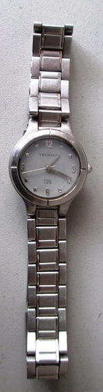 B3499 Relógio Technos Feminino Em Aço Modelo 2035px Mede 2,
