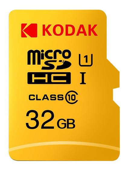 Kodak Micro Sd Card Cartão De Memória 32gb Tf Class10 C10 U1