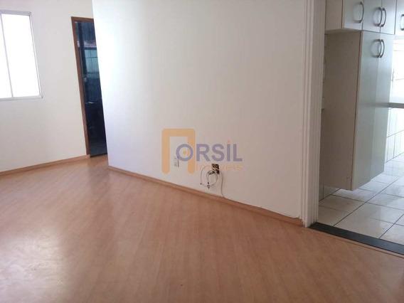 Apartamento Com 2 Dorms, Vila Mogilar, Mogi Das Cruzes - R$ 225 Mil, Cod: 1277 - V1277