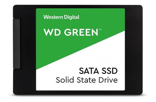 Disco Estado Solido Ssd Wd 120gb 2.5  7mm Sata3 Green