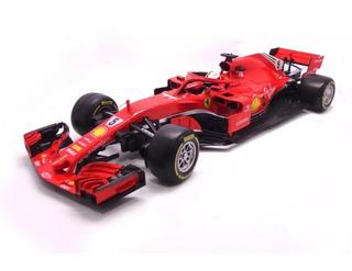 Miniatura Ferrari Fórmula 1 F1 Sebastian Vettel 1:18 30 Cm