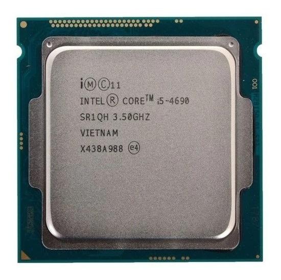 Processador gamer Intel Core i5-4690 BXC80646I54690 de 4 núcleos e 3.9GHz de frequência com gráfica integrada